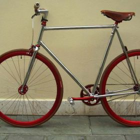 'Single Speed' handcrafted bikes